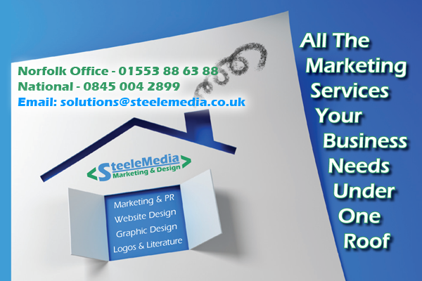 Kings Lynn Norfolk web design, graphic design, marketing services, public relations specialists