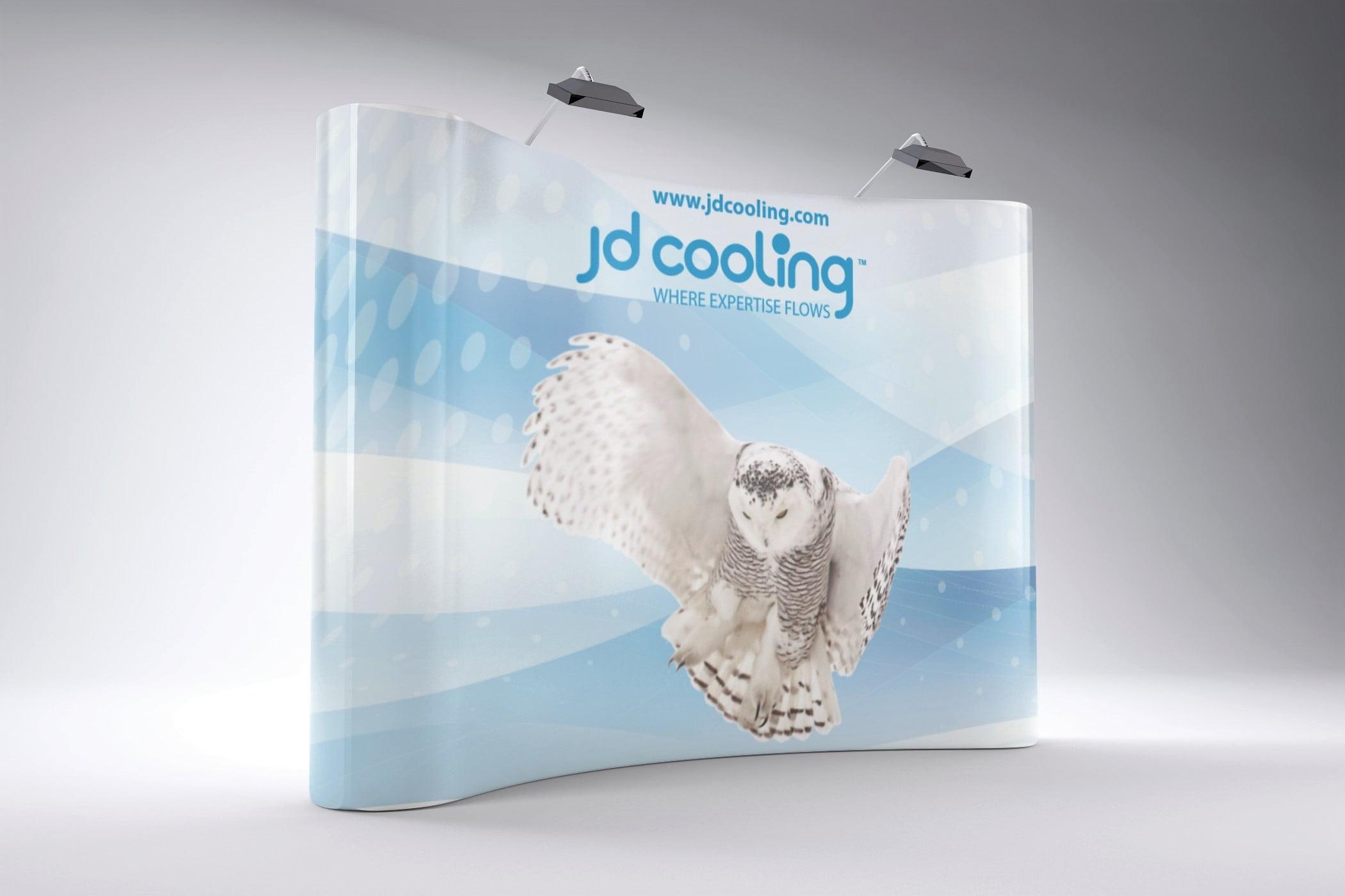 JD Cooling Signage
