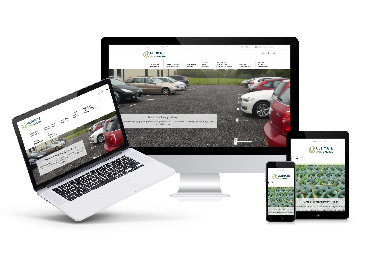 steele media ultimate 1 web design