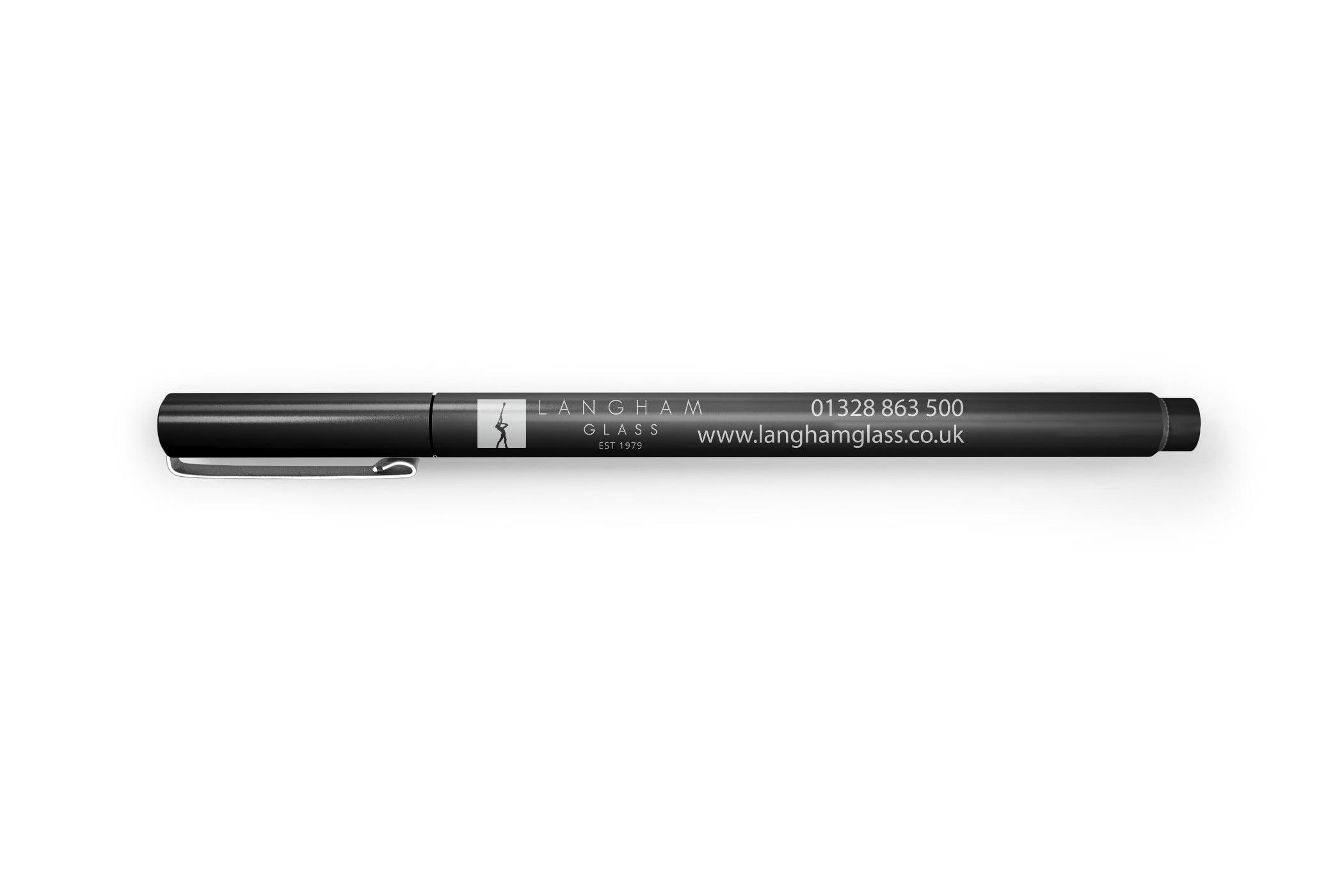 steele media langham glass pen