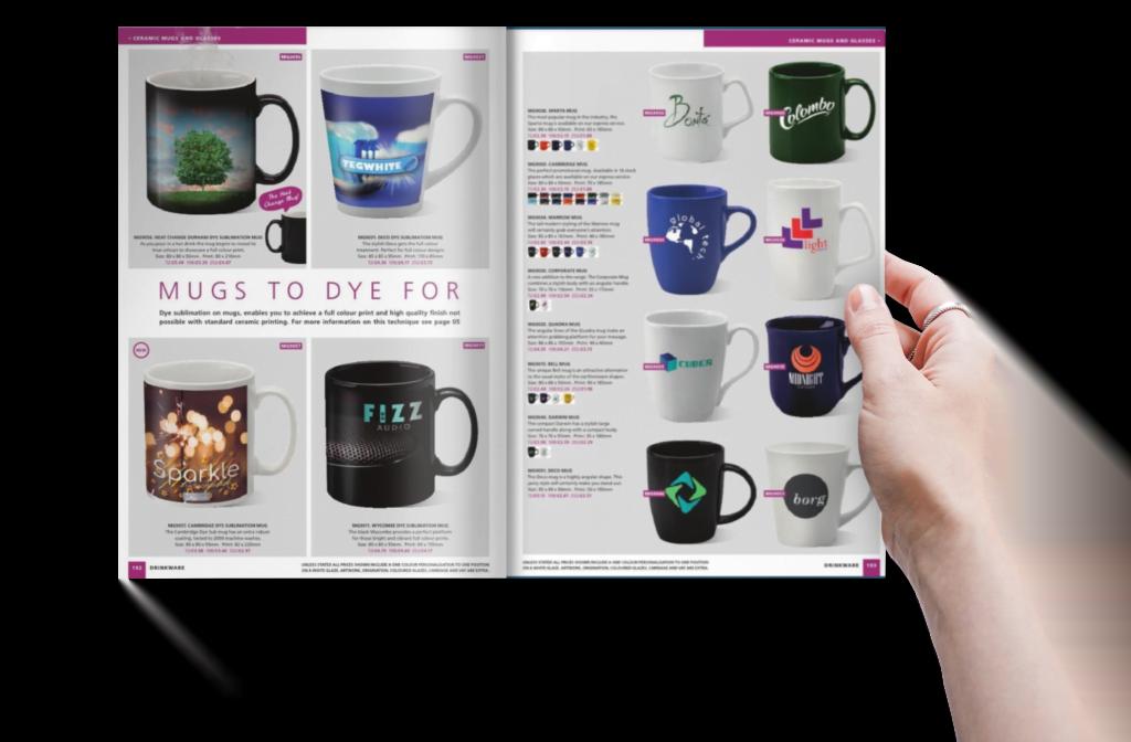 steele media promo mug book